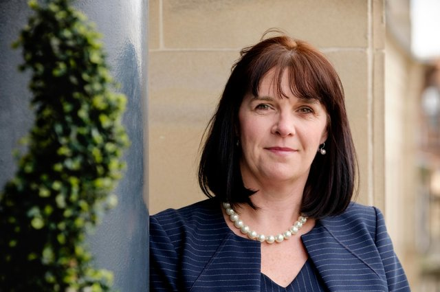 Catherine Burnet, KPMG's regional chair in Scotland: 'There's a growing sense that Scotland's economy is beginning to move again.' Picture: Mike Wilkinson