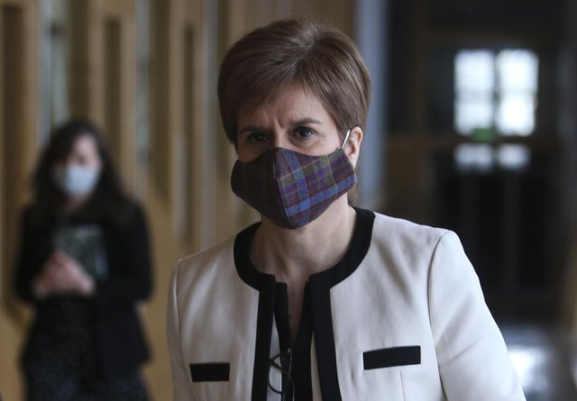 Nicola Sturgeon says that if schools do begin a phased return later this month it is not a 'trigger' for others to start bending the rules.