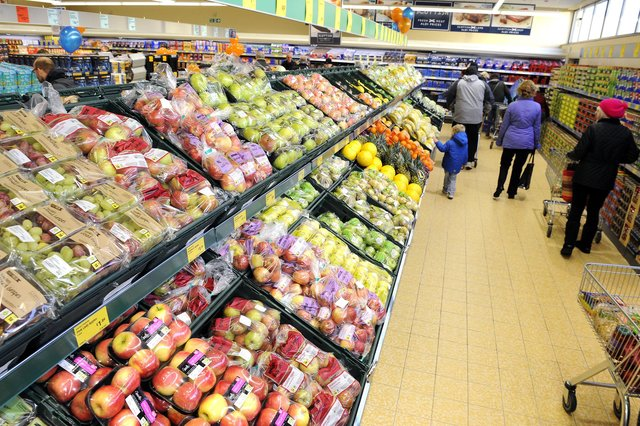 Aldi currently has 96 stores in Scotland and more than 900 across the UK. Picture: Michael Gillen
