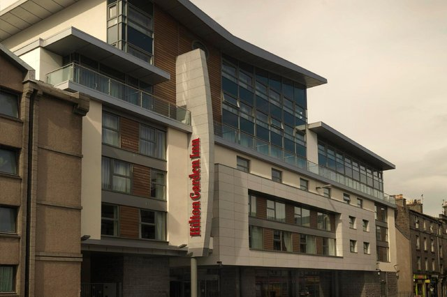 The firm operated the Hilton Garden Inn Aberdeen City Centre. Picture: Alan Donaldson.