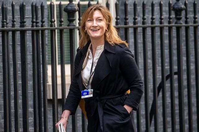 Allegra Stratton on Downing Street