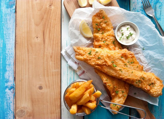 Happy national fish and chip day.