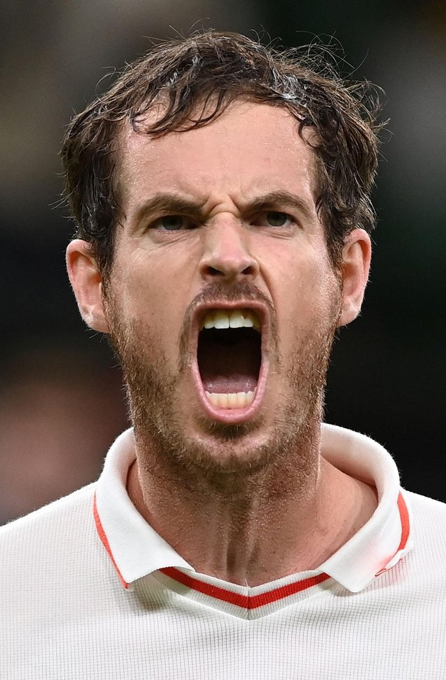 Andy Murray rolled back the years with a rollercoaster win and was justly proud of it