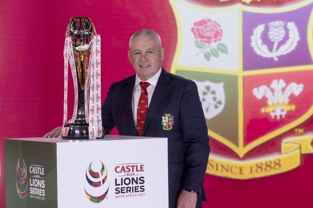 Lions head coach Warren Gatland praised Scotland's new-found ability to win away from home. Picture: Dan Sheridan/Pool/Getty Images