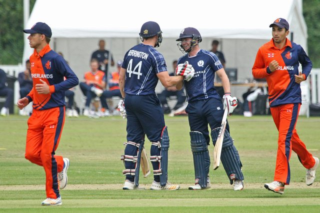 Scotland will take on the Netherlands in one-day internationals on May 19 and 21.