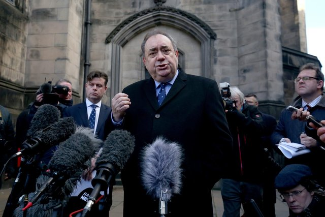 Alex Salmond won a judicial review case last year against the Scottish government's handling of harassment complaints against him