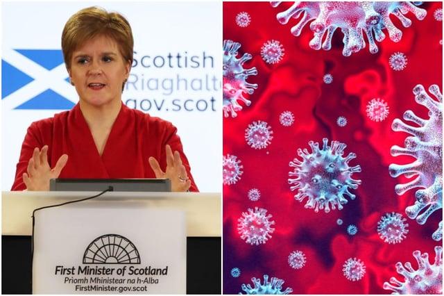 Live updates on coronavirus in Scotland.