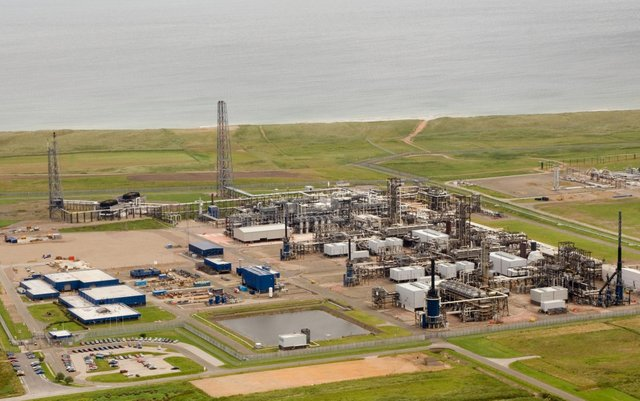 St Fergus Gas Terminal is at the centre of the Acorn carbon capture and storage project. (Photo: Shell)