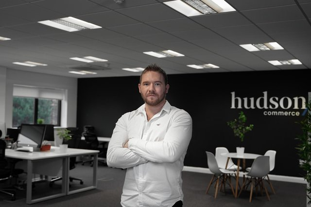Mr Findlay became MD of Hudson before his 30th birthday. Picture: contributed.
