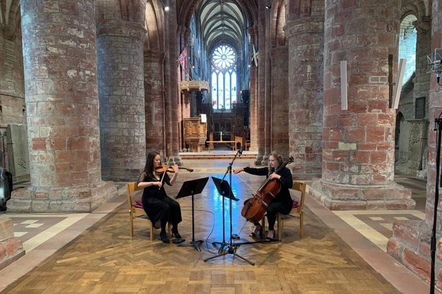 Gaia Duo in St Magnus Cathedral