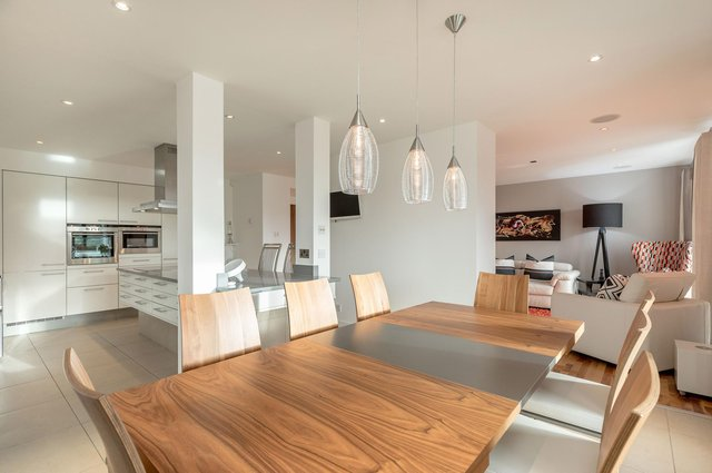 Internal shot of a three-bedroom apartment at Barnton, Edinburgh, on the market with Lindsays. Picture: Alan Rennie Photography