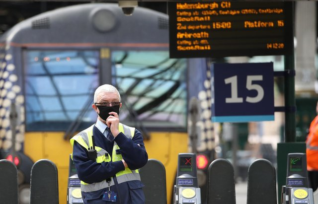 ScotRail staff have only been checking tickets at stations during the pandemic. Picture: Andrew Milligan/PA