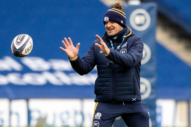 Scotland coach Gregor Townsend is mindful of the increase in yellow and red cards. Picture: Craig Williamson/SNS