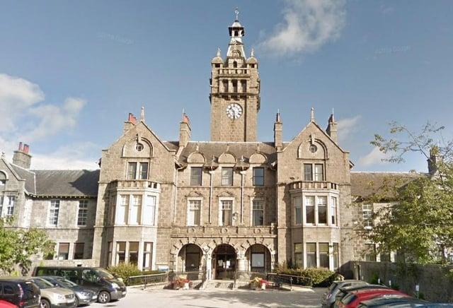 Woodend Hospital in Aberdeen.