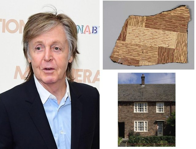 The search is on to trace the flooring in the childhood home of Paul McCartney