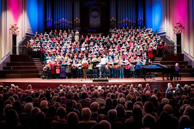 Edinburgh's Love Music Community Choir PIC: Andy Catlin