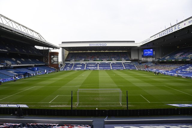 Rangers are exploring the possibility of increasing the capacity of Ibrox. (Photo by Rob Casey / SNS Group)