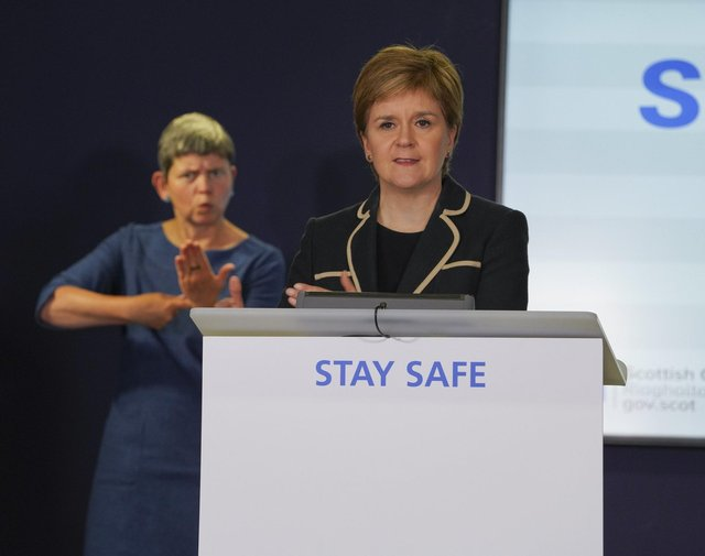 Nicola Sturgeon insisted there had been no attempt to hide the scale of care home deaths