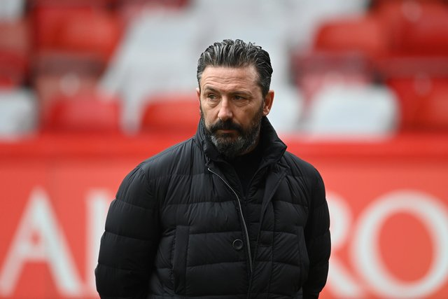 Derek McInnes has been sacked by Aberdeen after one win in nine matches with just one goal scored. (Photo by Paul Devlin / SNS Group)