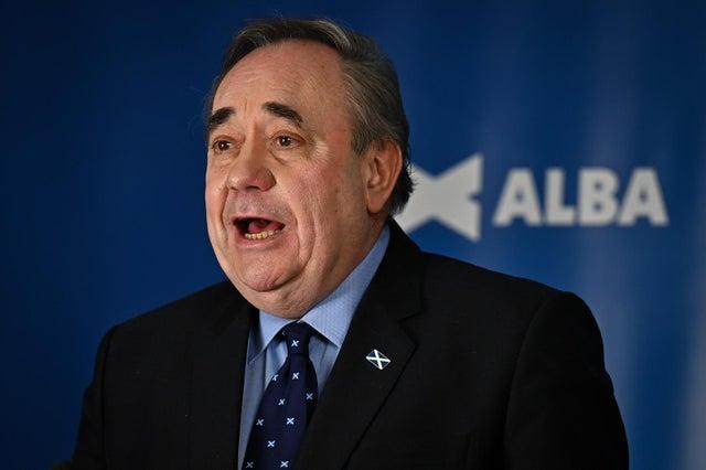 "Mr Salmond's party aims to pursue a ""clean break"" settlement."