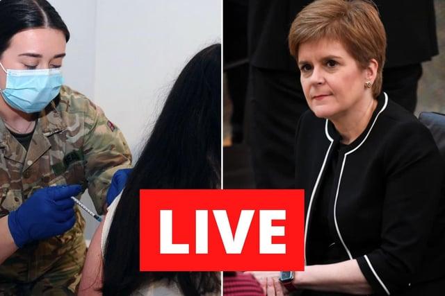 Coronavirus in Scotland LIVE: Nicola Sturgeon prepares to address parliament to outline route of of lockdown