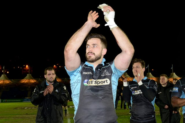 Alex Dunbar played 119 times for Glasgow Warriors. Picture: Gary Hutchison/SNS