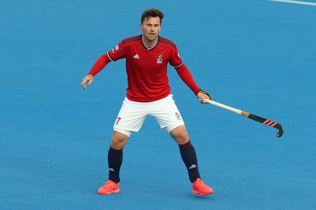 Alan Forsyth in action for Great Britain. He has been named among the reserves for the Olympics. Picture: Kate McShane/Getty Images