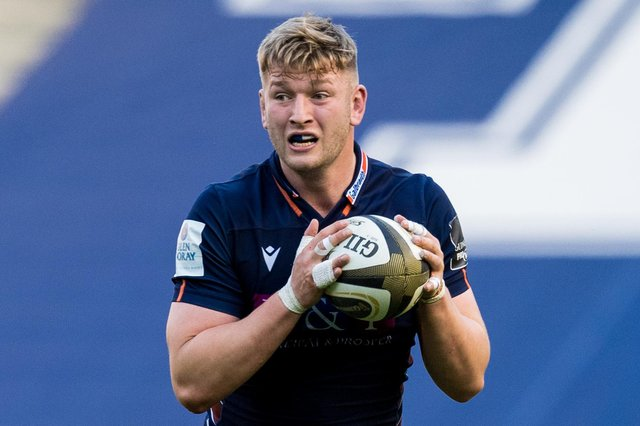Jamie Hodgson signed his first full professional contract with Edinburgh in January. Picture: Ross Parker/SNS