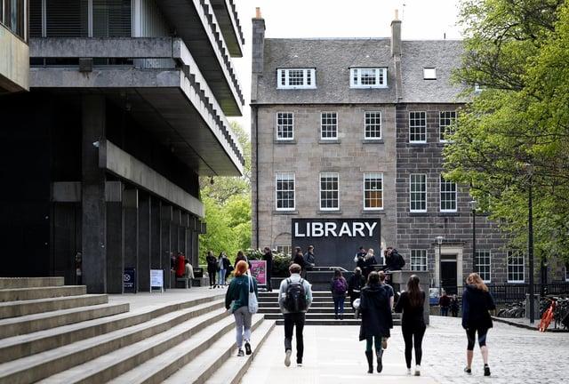 The University of Edinburgh's main library, Edinburgh.