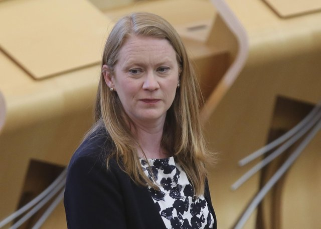 Gina Davidson has written a letter that she thinks Education Secretary Shirley-Anne Somerville should send to pupils (Picture: Fraser Bremner/Scottish Daily Mail/pool/PA)