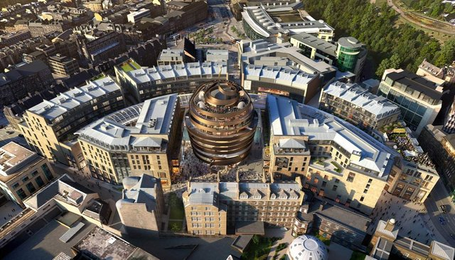 Although the retail sector has been hard hit by the pandemic, developments such as Edinburgh's St James Quarter highlight there are still opportunities for investors.