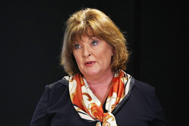 Fiona Hyslop has announced she is stepping down. (Photo by ANDREW MILLIGAN/POOL/AFP via Getty Images)