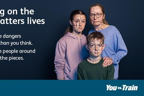 Scotland's railway and British Transport Police have launched a new campaign - 'shattered lives' - warning of the dangers of trespassing on the railway where making the wrong choice could lead to devastating consequences for individuals, friends and family.