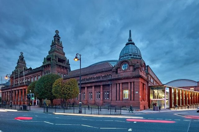The Kelvin Hall, which will become home to the new 10,000 sq ft studio facility, dates back to 1927.