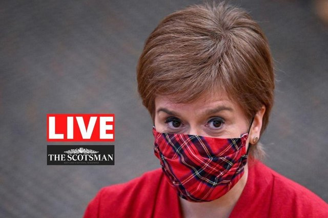 Nicola Sturgeon is due to set out what life in Scotland will look like under the lowest level of coronavirus restrictions.