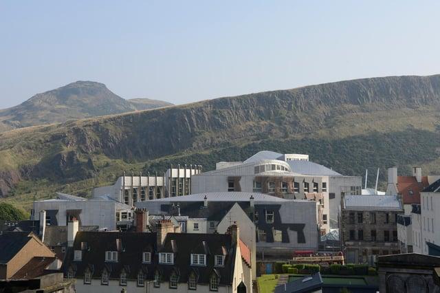 The Scottish Parliament building. Picture: Andrew O'Brien.