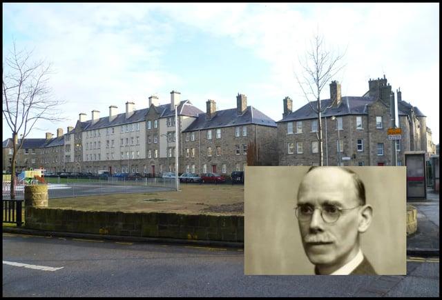 Ebenezer MacRae was City Architect in the inter war era in Edinburgh.