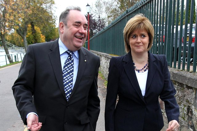 Nicola Sturgeon could miss out on a majority due to the tactics of her former mentor, Alex Salmond.