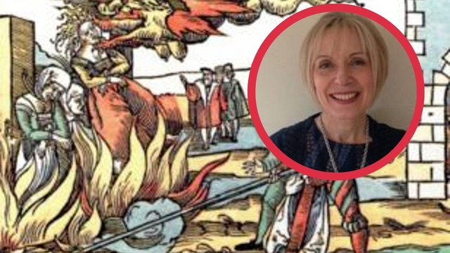 Professor Nicola Ring will lead the research into the 150 'witches' who were in fact nurses and midwives (Photo: Heritage Doncaster and Edinburgh Napier).