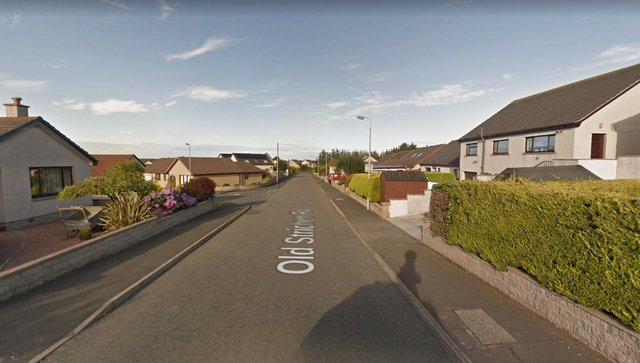 The elderly woman was targeted at a property on Old Strichen Road, Fraserburgh.
