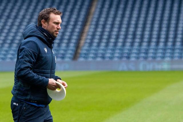 Scotland interim head coach Mike Blair. Picture: Gary Hutchison/SNS