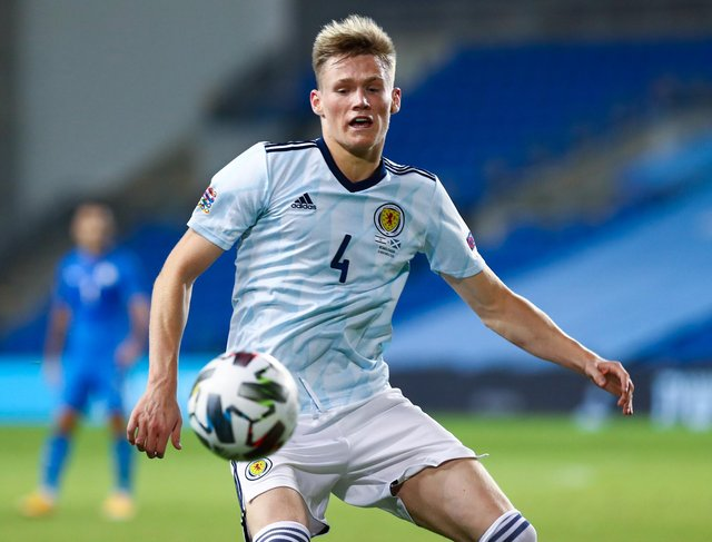 """Late physical development means Scott McTominay has been only three years developing as the """"man"""" the Manchester United backs himself to become in the game. (Photo by Seffi Magriso / SNS Group)"""