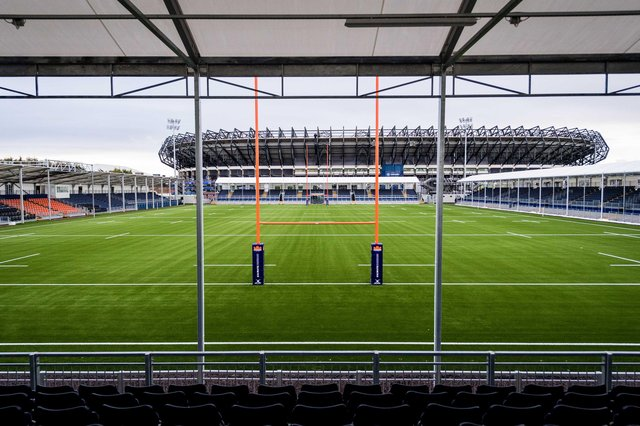 Edinburgh's new rugby stadium in the shadow of big brother Murrayfield waits for crowds to be allowed back to stage its first game