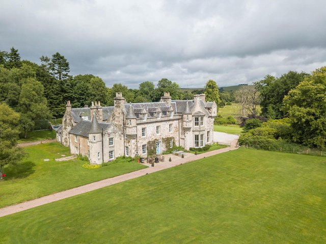 Chateau Wartle could be the ultimate in post-lockdown Scottish staycations.