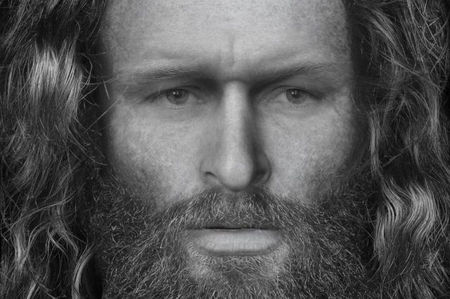 Rosemarkie Man - the reconstructed face of a high-status Pict whose remains were found in a cave on the Black Isle. The site is likely to be included the Highland Pictish Trail which will launch later this summer. PIC: Dundee University.