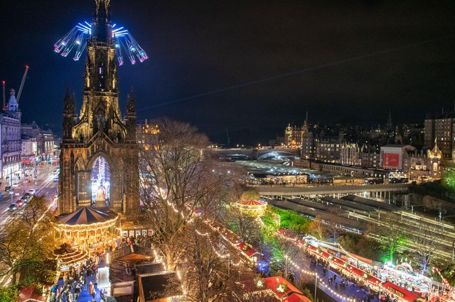 Edinburgh's winter festivals have proved not to be to everyone's taste but many still enjoy them (Picture: Ian Georgeson)