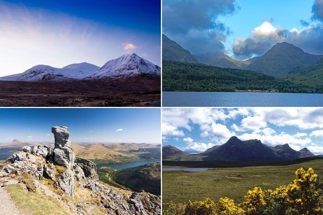 Some of Scotland's spectacular Corbetts.