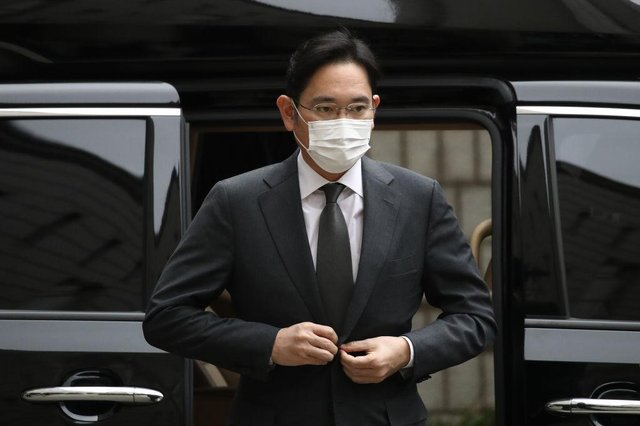 Samsung Electronics head Lee Jae Yong has been jailed for bribery. (Pic: Getty Images)