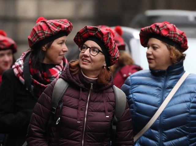 Tourists are vital to Edinburgh's economy