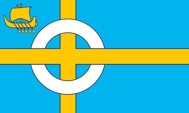 The new flag for the Isle of Skye has been unveiled. PIC: Contributed.